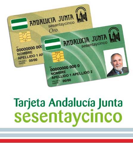 Descuentos con la tarjeta Andalucía Sesentaycinco